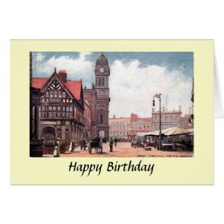 Birthday Card - Town Hall, Derby