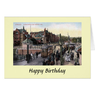 Birthday Card - Utrecht, Netherlands