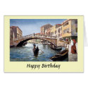 Birthday Card - Venice, Italy