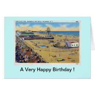 Birthday Card - Wildwood, New Jersey