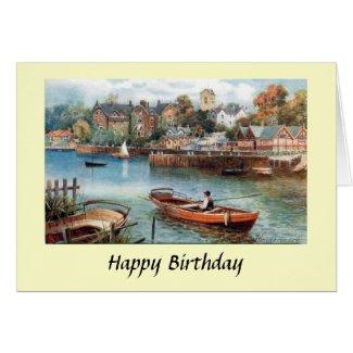 Birthday Card - Windermere, Cumbria