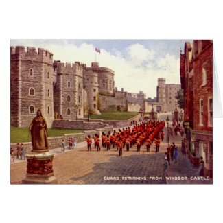 Birthday Card, Windsor Castle