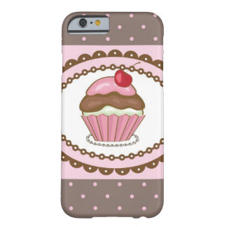 Birthday card with cupcake barely there iPhone 6 case