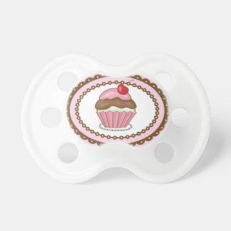 Birthday card with cupcake dummy