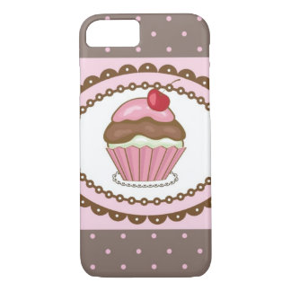 Birthday card with cupcake iPhone 8/7 case