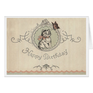 Birthday Cat! Card