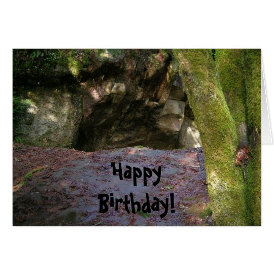 Birthday Caveman Card