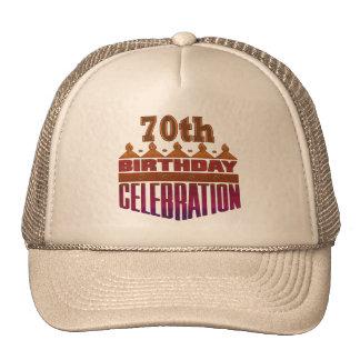 Birthday Celebration 70th Birthday Gifts Cap