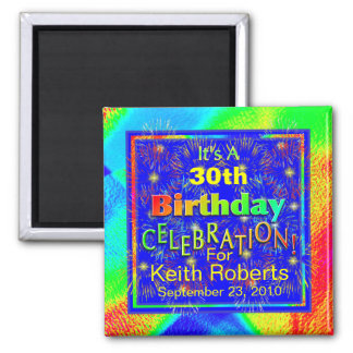 Birthday Celebration Magnets