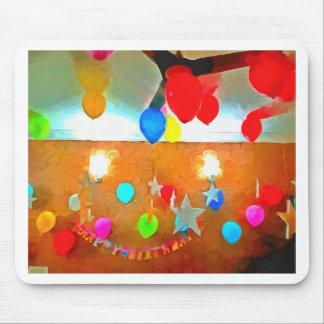 Birthday celebrations mouse pad