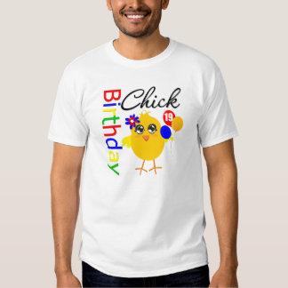 Birthday Chick 19 Years Old Shirt