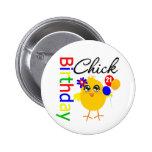 Birthday Chick 21 Years Old 6 Cm Round Badge