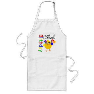 Birthday Chick 7 Years Old Aprons