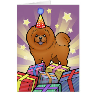 Birthday Chow Chow Card