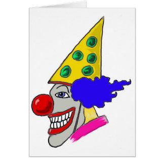 Birthday Clown Gifts Greeting Card