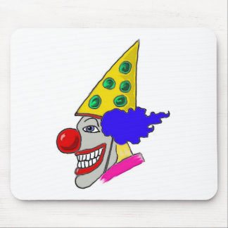 Birthday Clown Gifts Mouse Pads