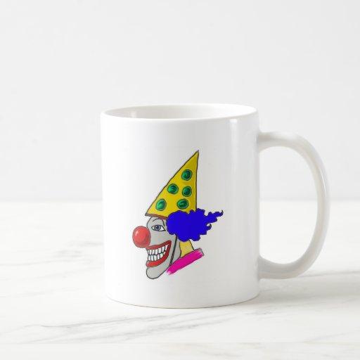 Birthday Clown Gifts Coffee Mugs