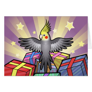 Birthday Cockatiel Card