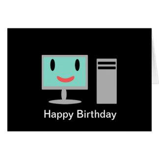 Birthday Computer Card
