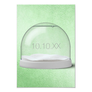 Birthday Corporate Anniversary Party Vip Mint 9 Cm X 13 Cm Invitation Card