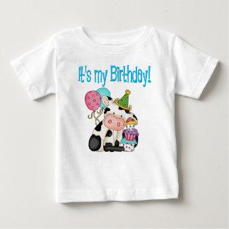 Birthday Cow T Shirts