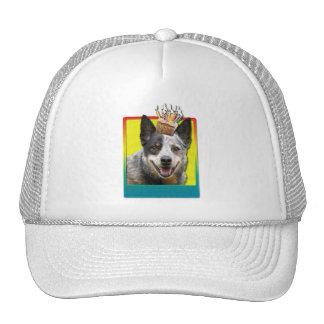 Birthday Cupcake - Australian Cattle Dog Trucker Hat
