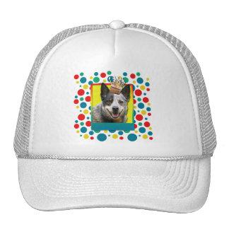 Birthday Cupcake - Australian Cattle Dog Trucker Hats