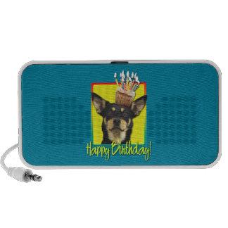 Birthday Cupcake - Australian Kelpie - Jude Mp3 Speakers