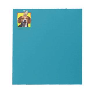 Birthday Cupcake - Beagle Notepad