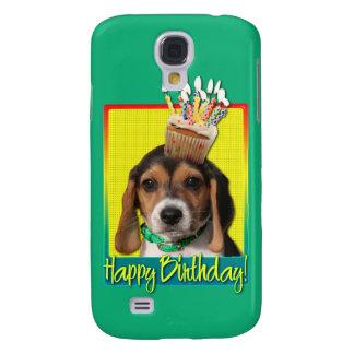 Birthday Cupcake - Beagle Puppy - Chloe Samsung Galaxy S4 Cover