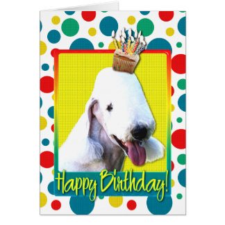 Birthday Cupcake - Bedlington Card