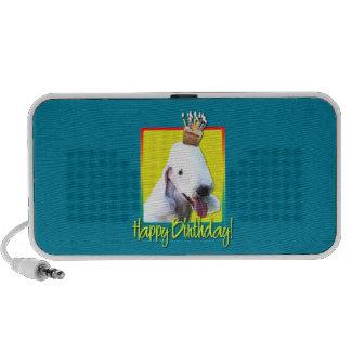 Birthday Cupcake - Bedlington Terrier Travelling Speaker