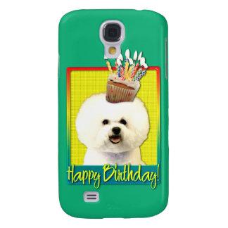 Birthday Cupcake - Bichon Frise Galaxy S4 Cases