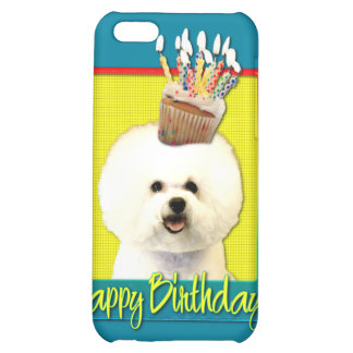 Birthday Cupcake - Bichon Frise Case For iPhone 5C