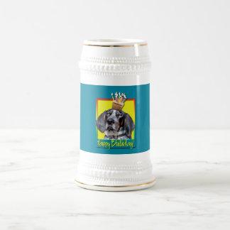Birthday Cupcake - Bluetick Coonhound - Chuck Mugs