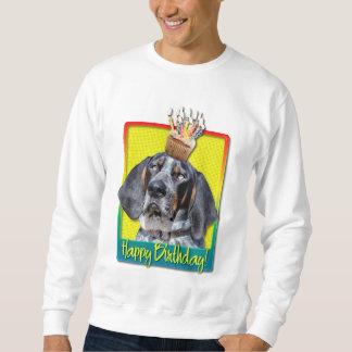 Birthday Cupcake - Bluetick Coonhound - Chuck Pull Over Sweatshirts