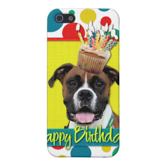 Birthday Cupcake - Boxer - Vindy Covers For iPhone 5