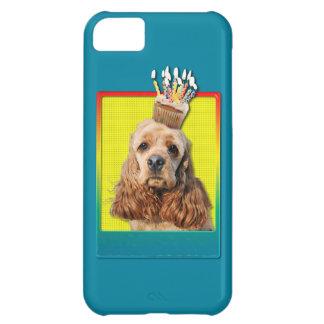 Birthday Cupcake - Cocker Spaniel iPhone 5C Case