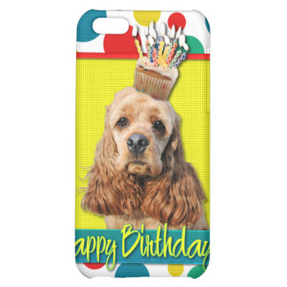 Birthday Cupcake - Cocker Spaniel Cover For iPhone 5C