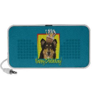 Birthday Cupcake - Collie - Caroline Notebook Speaker