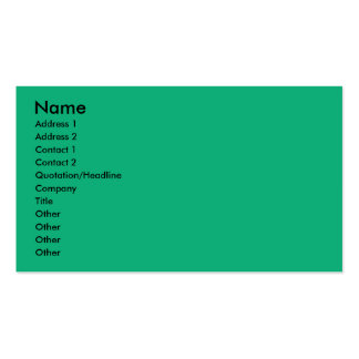 Birthday Cupcake - French Bulldog - Teal Pack Of Standard Business Cards
