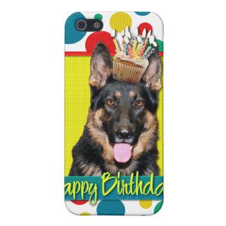 Birthday Cupcake - German Shepherd - Kuno iPhone 5 Cover
