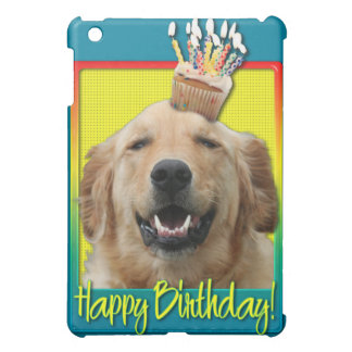 Birthday Cupcake - Golden Retriever - Mickey iPad Mini Case