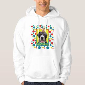 Birthday Cupcake - Greater Swiss Mountain Dog Hoodie