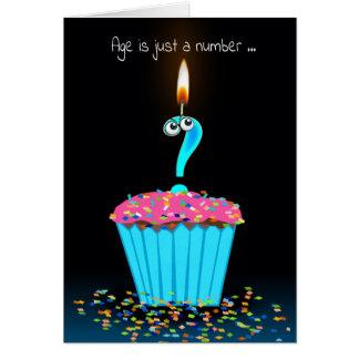 Birthday Cupcake Humor Card