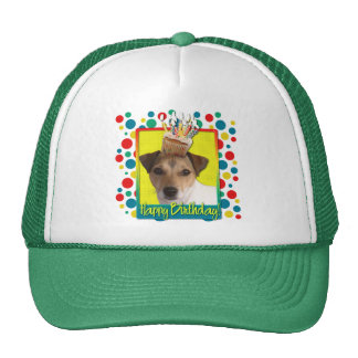 Birthday Cupcake - Jack Russell Cap