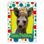 Birthday Cupcake - Kangaroo
