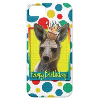 Birthday Cupcake - Kangaroo iPhone 5 Covers