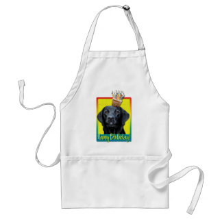 Birthday Cupcake - Labrador - Black - Gage Standard Apron