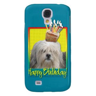 Birthday Cupcake - Lowchen Samsung Galaxy S4 Case